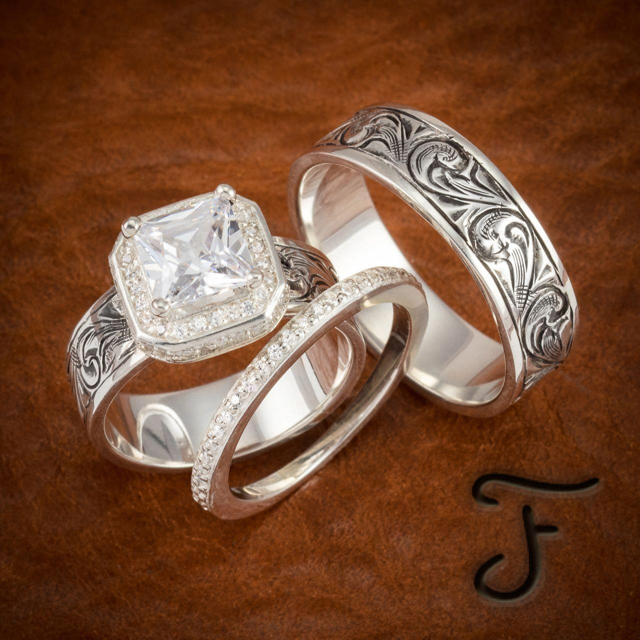 Special ReservedUnique Moissanite Engagement Ring 14K