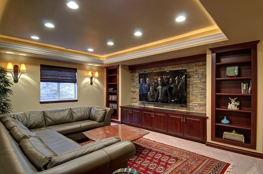 Basement Home Theatre Ideas Property 23 basement home theater design ideas for entertainment | home