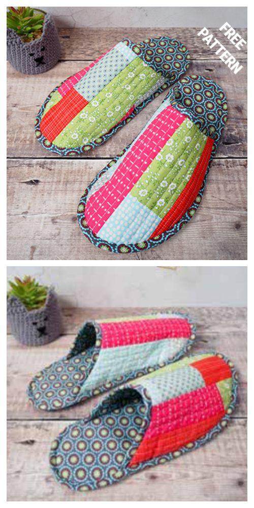 Photo of Fabric Spa Slippers Free Sewing Patterns
