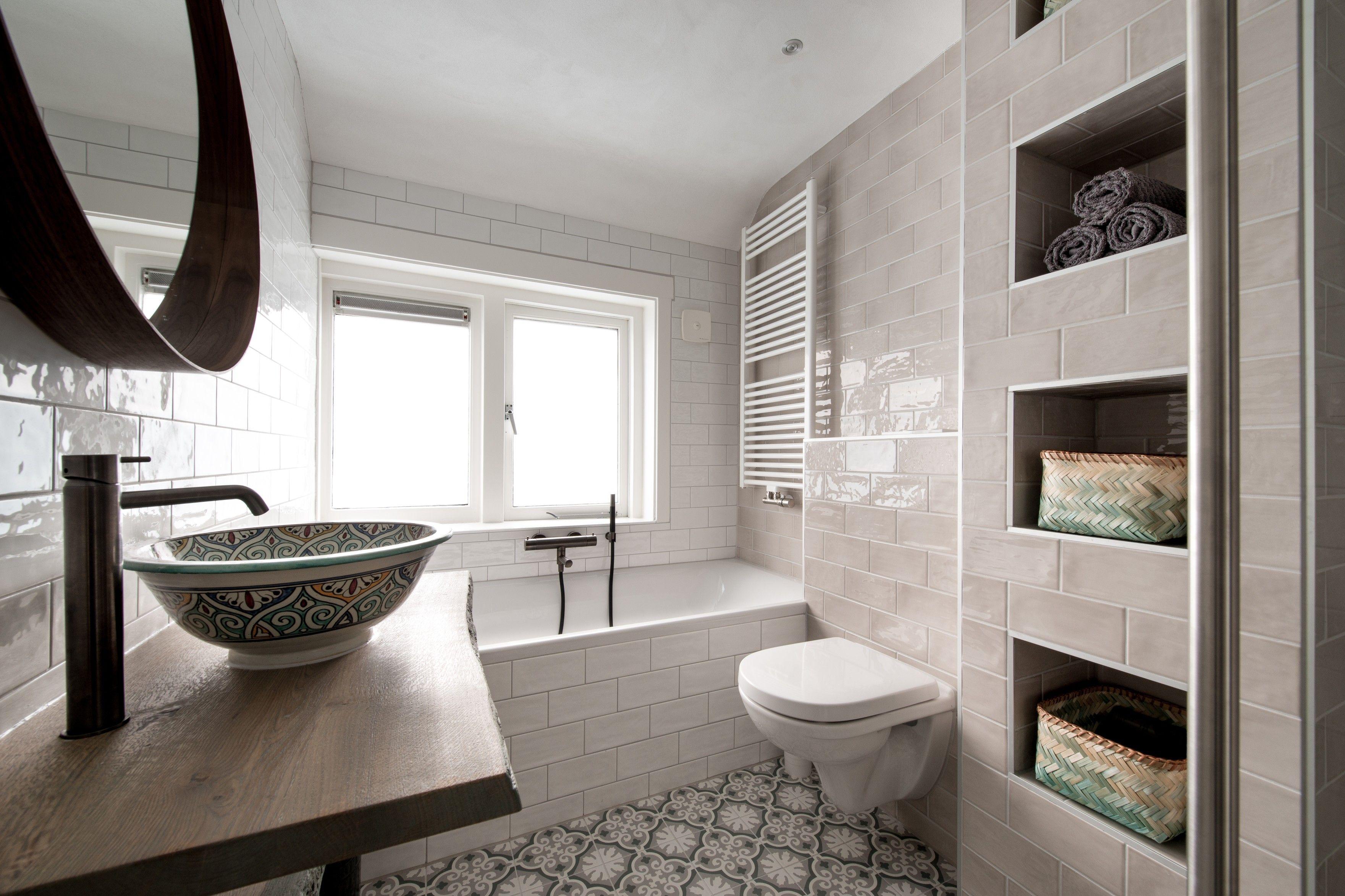 Een prachtige design badkamer van Middelkoop. De unieke Marokkaanse ...