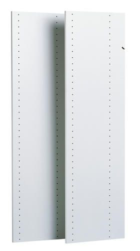Easy Track 48 Vertical Panels 2 Pack White At Menards Easy Track Closet Closet System White Paneling