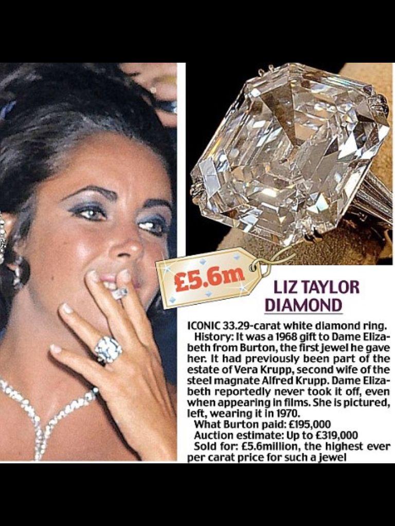 Elizabeth Taylor Elizabeth Taylor Jewelry Elizabeth Taylor Elizabeth Taylor Diamond
