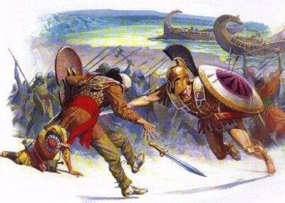 Τα γεγονότα της μάχης του Μαραθώνα είναι λίγο πολύ γνωστά. Το 490 π.Χ. 10.000 Αθηναίοι και Πλαταιείς συνέτριψαν μια υπερδιπλάσια περσική δύναμη σώζοντας την Αθήνα, τον νεότατο θεσμό της δημοκρατίας κα