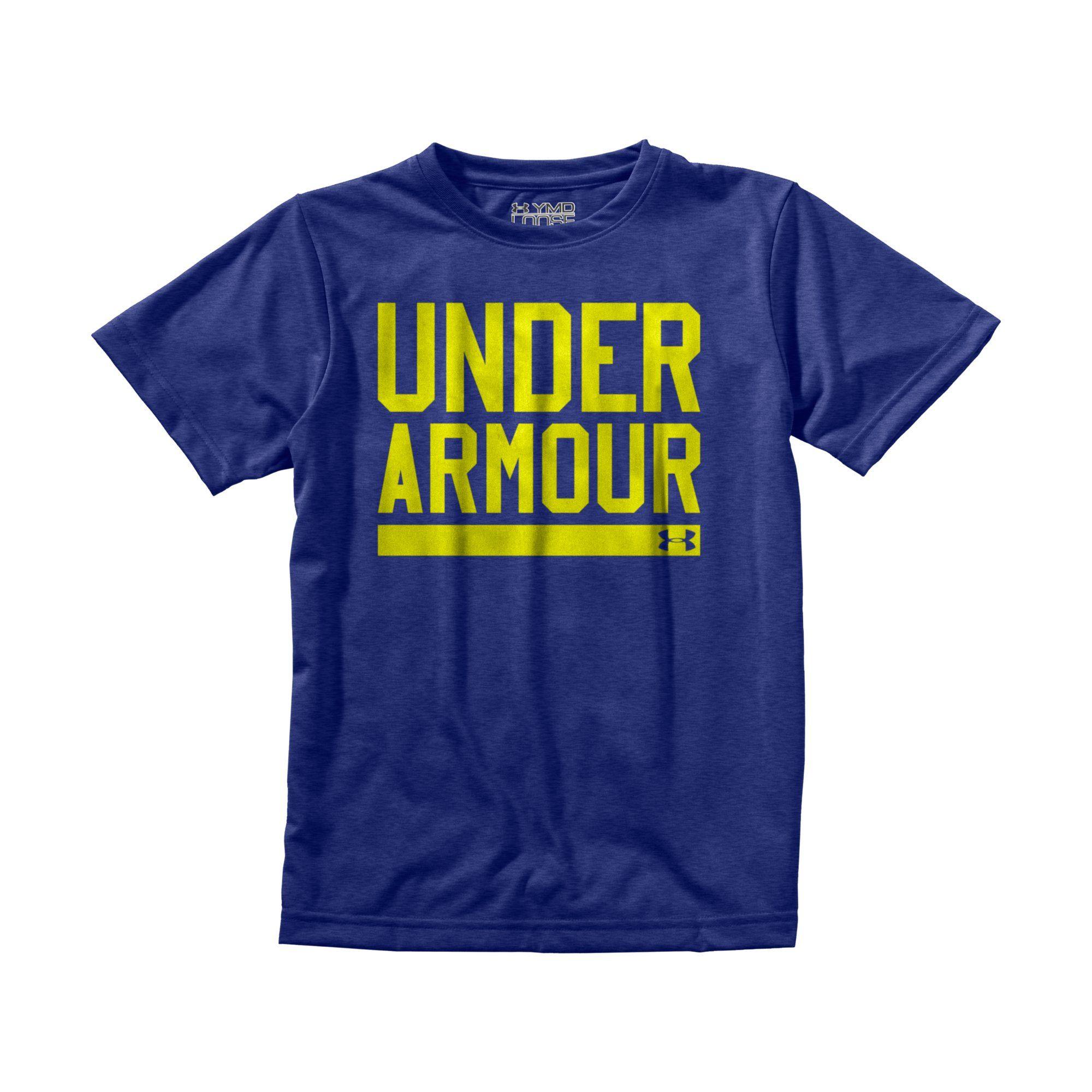 Under Armour Boys' UA Script T-Shirt