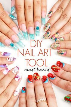 Diy nail art must haves nail art brushes dotting tool and nail ebay buying guides nail art brushesnail art toolstool kitmakeup spongesresindiy solutioingenieria Choice Image