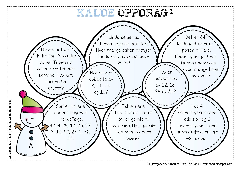 Et sett med kalde oppdrag | Begynneropplæring med Runar | новый год ...