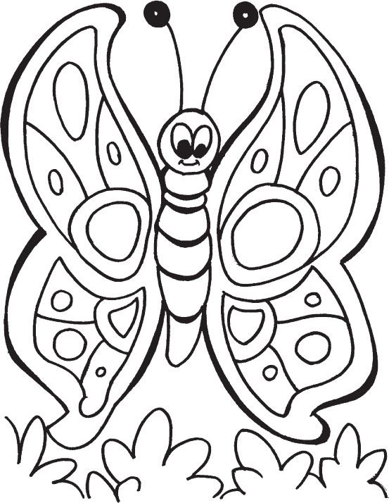 imagenes mariposas gratis para colorear | dibujos | Pinterest ...
