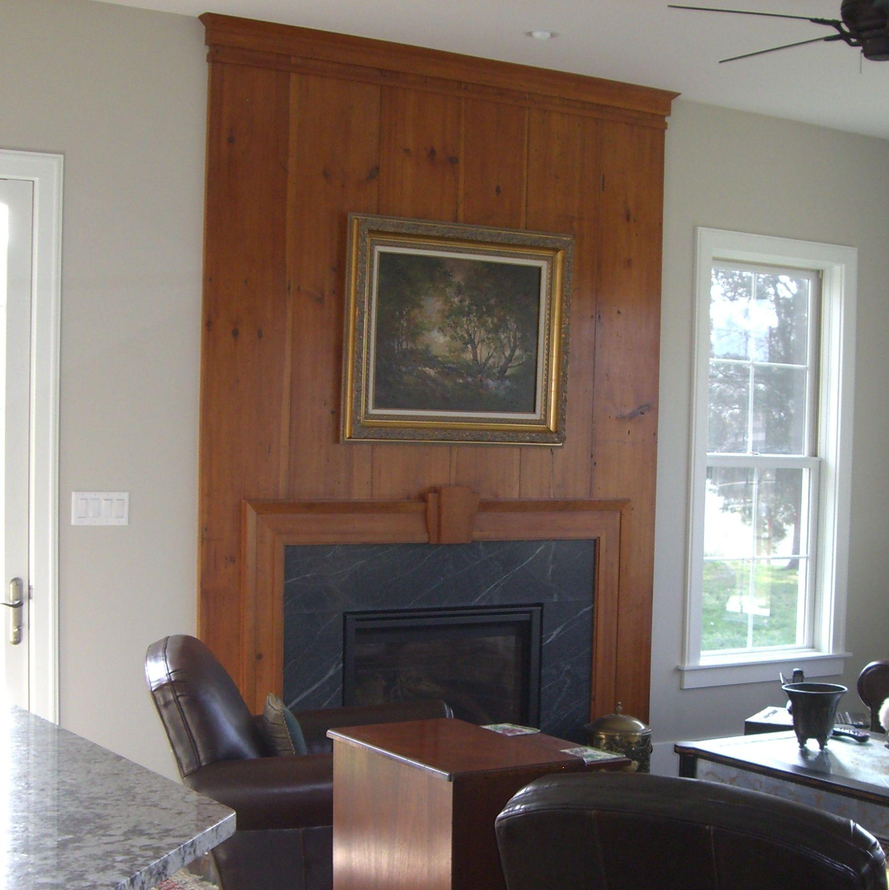 1810 Wood Fireplace Surround