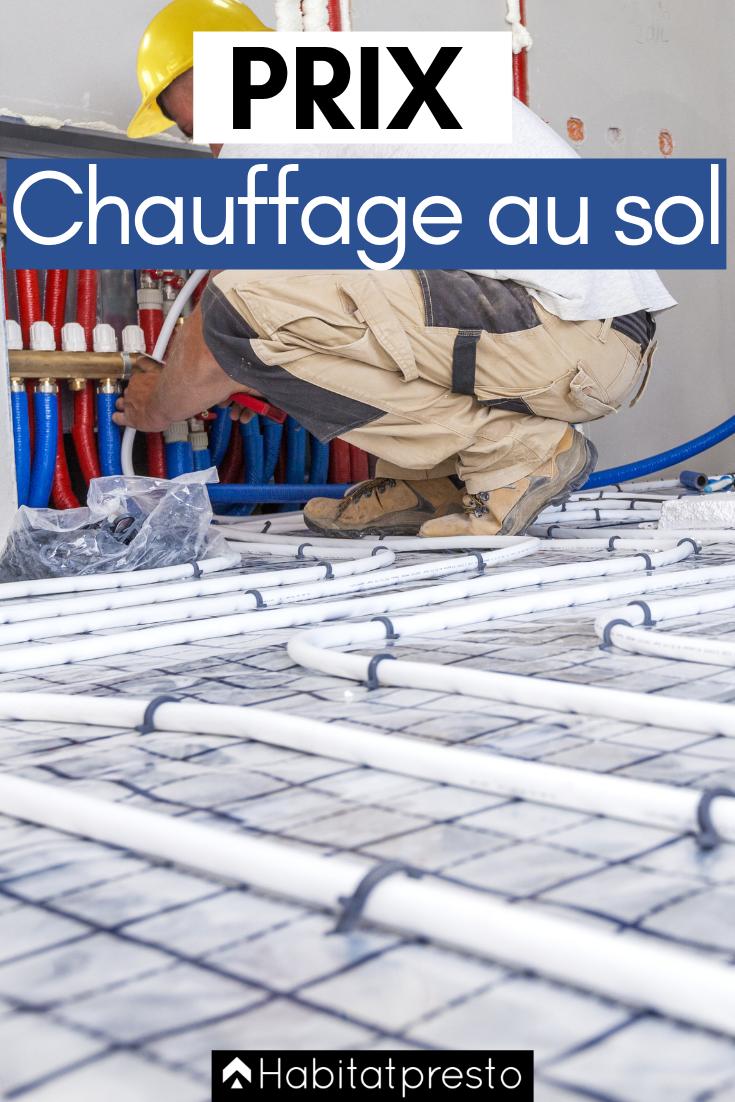 Chauffage Au Sol Prix Au M D Un Plancher Chauffant Chauffage Au Sol Plancher Chauffant Chauffage