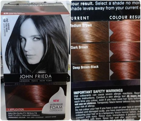 4r Dark Red Brown L Oreal Paris Superior Preference Fade Defying