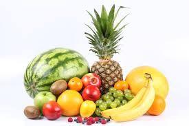 Fruta variada es mucho más que saludable #fruta #salud #cuidarse #piña #melon #platano