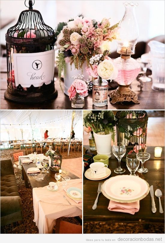 ideas y detalles para decorar una boda estilo vintage | wedding