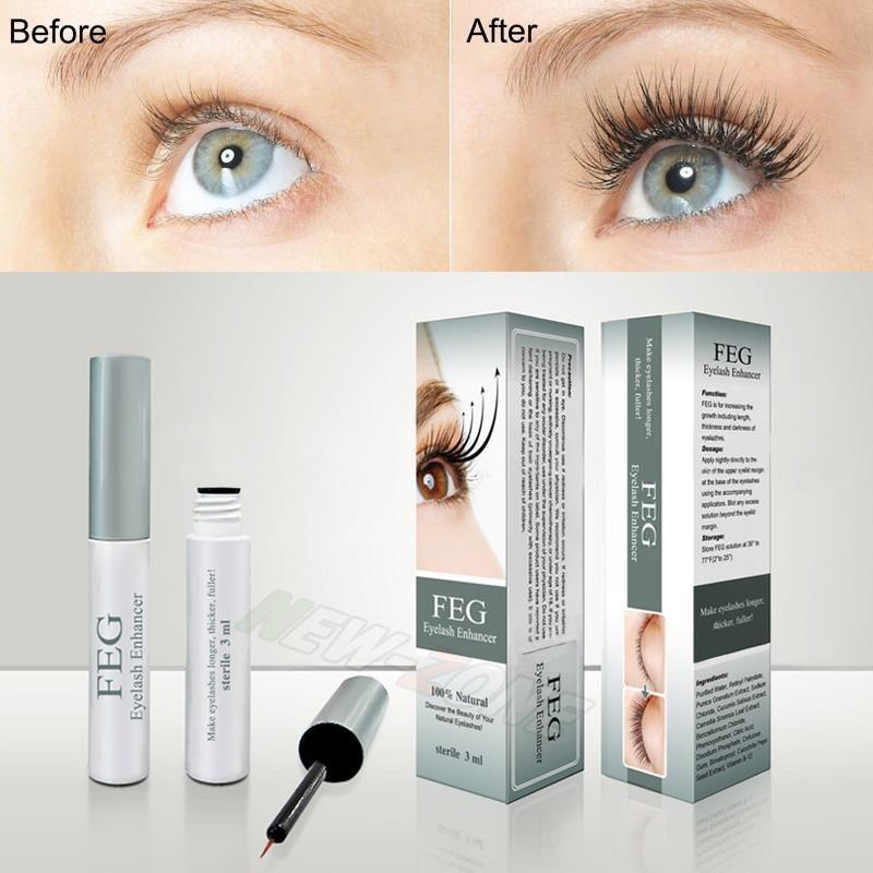 b285f20991e Feg eyelash growth treatments makeup feg eyelash enhancer 7 days longer  thicker eyelashes serum eyes care eye lash 100% original