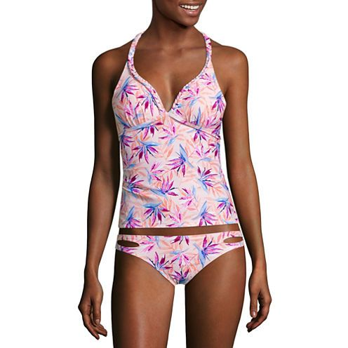 be23a5dbd0d Buy Arizona Floral Tankini Swimsuit Top-Juniors at JCPenney.com today and  enjoy great savings.