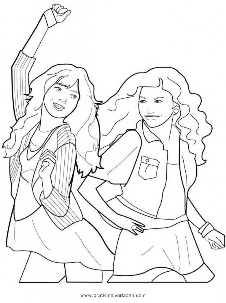Shake It Up Free Coloring Pages