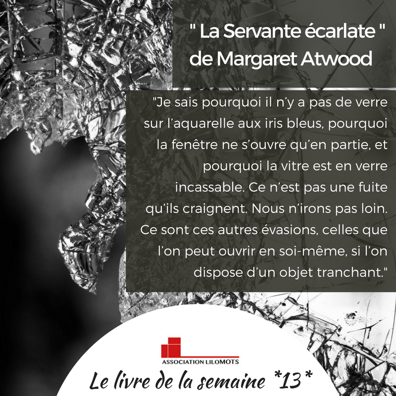 La Servante écarlate De Margaret Atwood 4° De Couv. : Dans