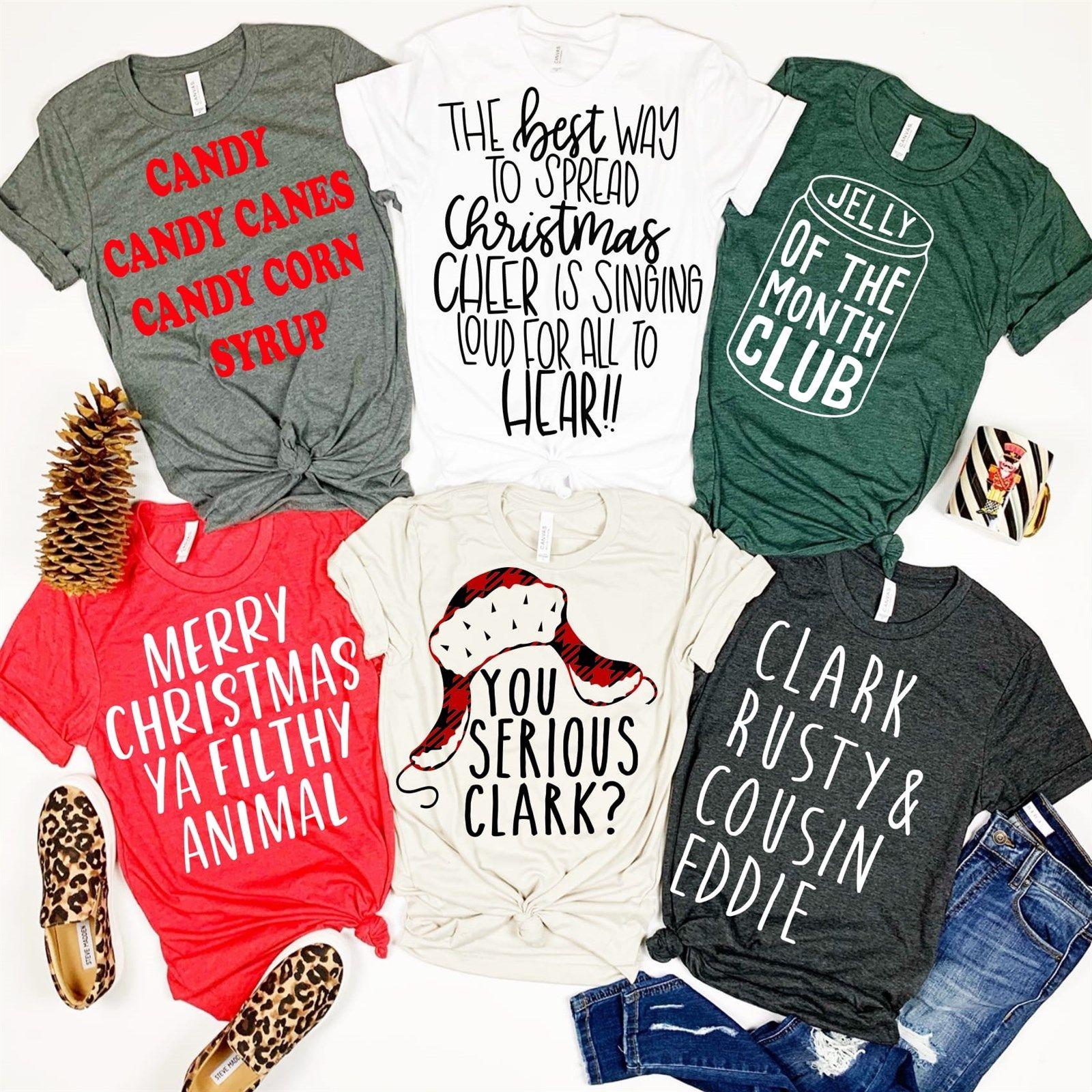 Holiday Graphic Tees Christmas vacation shirts, Tees