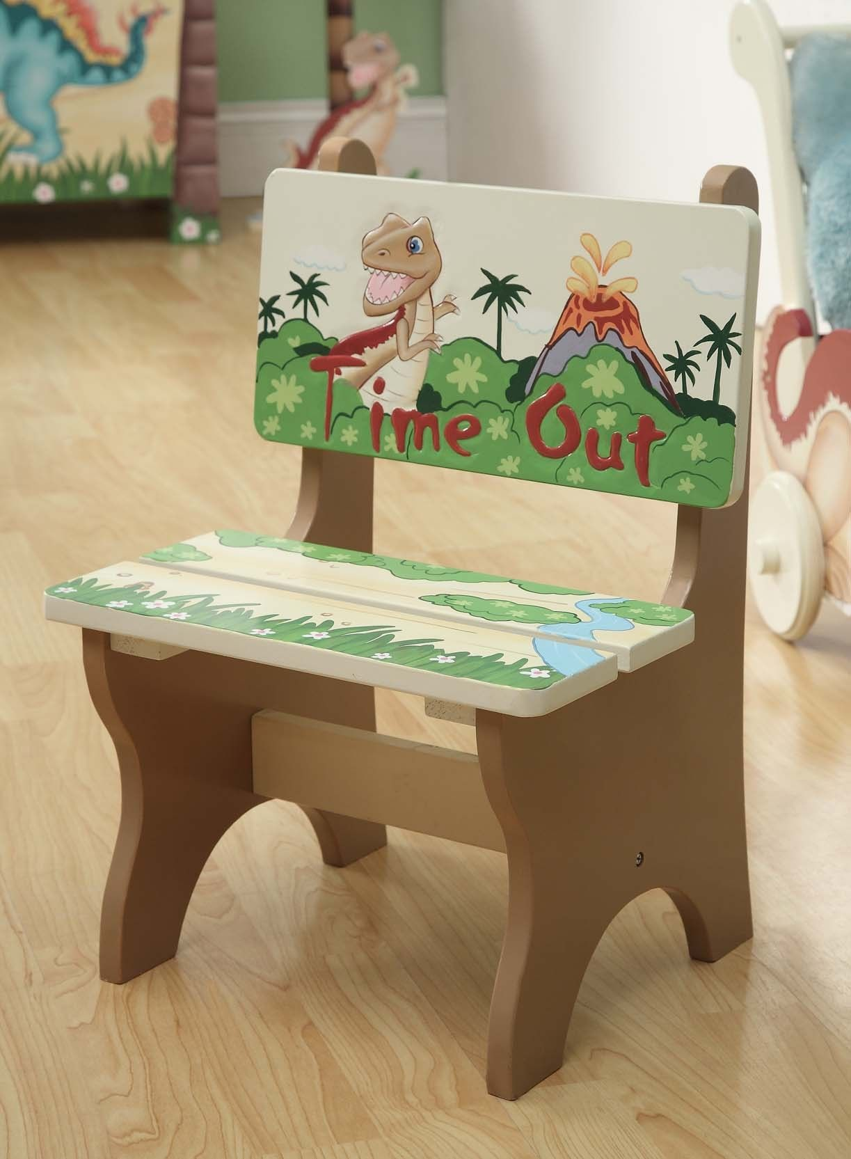 $4250 Personalized Dinosaur Kingdom Time Out Chair - Filiicom -