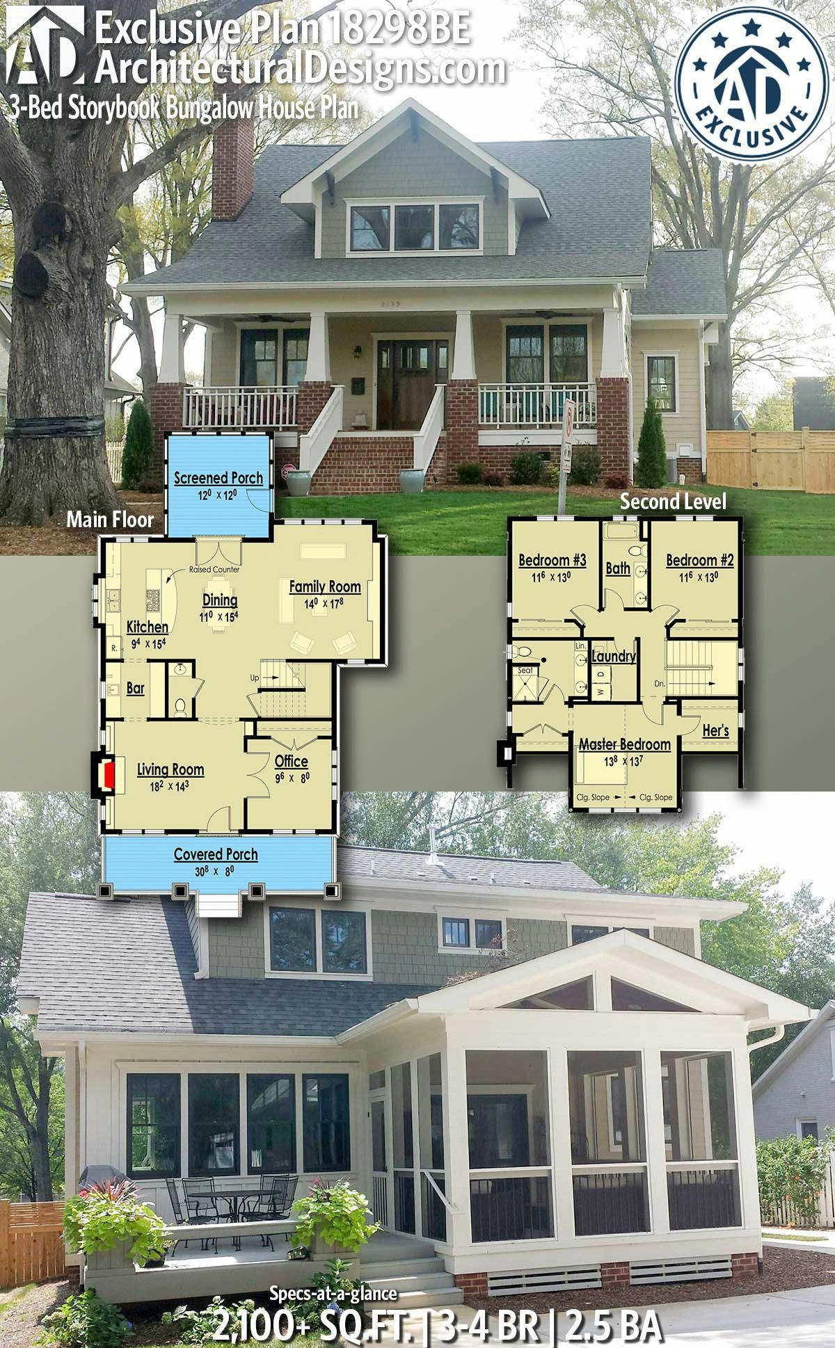 American Dream Homes Bighouses Storybook House Plan Bungalow House Plans Bungalow Homes