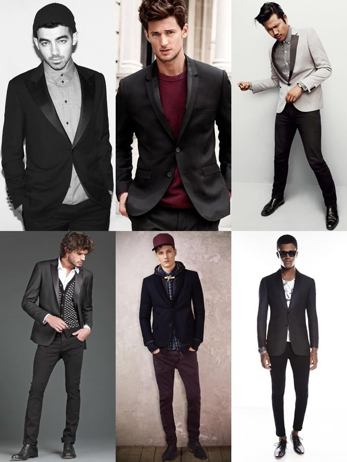 Men\u0027s Tuxedo Jacket Lookbook , Smart,Casual