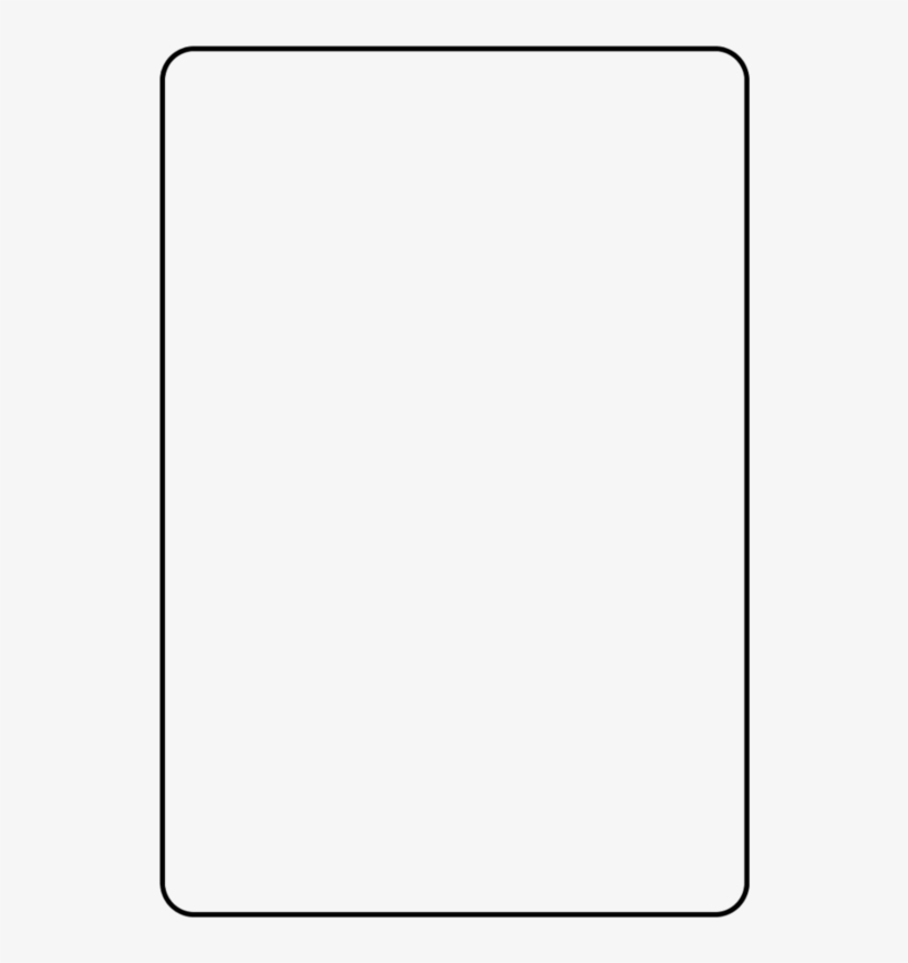 Blank Playing Card Template Snap Frame Png Image With Regard To Blank Playing Card Template Blank Playing Cards Card Template Bingo Card Template