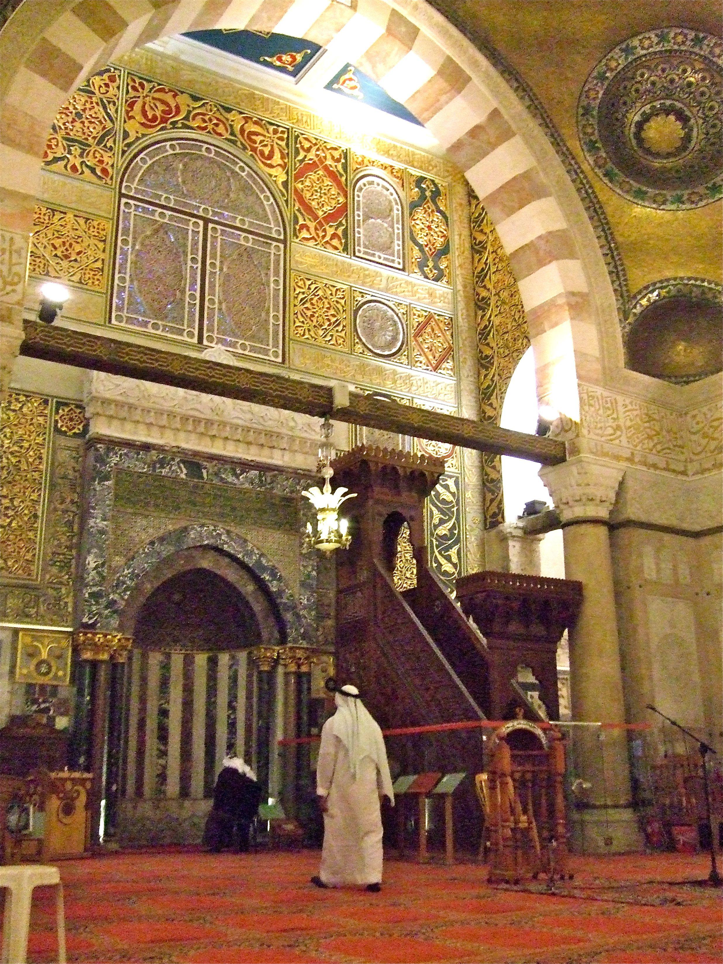 Mimbar In Masjidil Aqsa Jeruselam Travel
