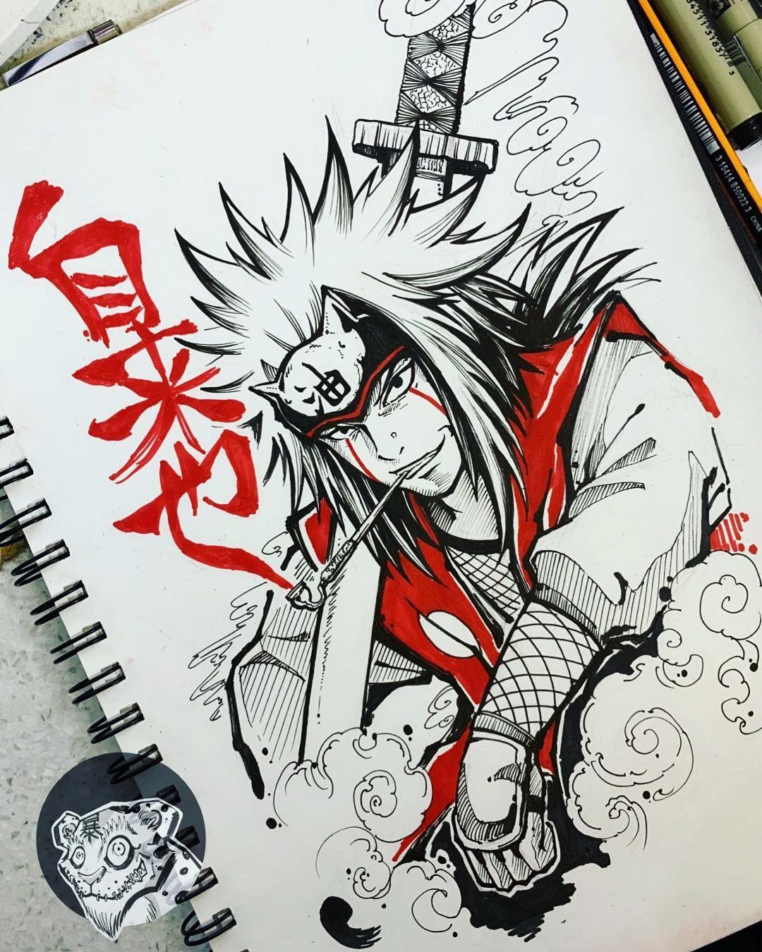 Ink Drawing Illustration Art Arte Draw Geektattoo Geek Manga Mangatattoo Anime Animetattoo Otaku Onep Naruto Sketch Naruto Tattoo Naruto Drawings