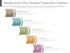 Meeting Action Plan Template Presentation Graphics  Omniiiiiii