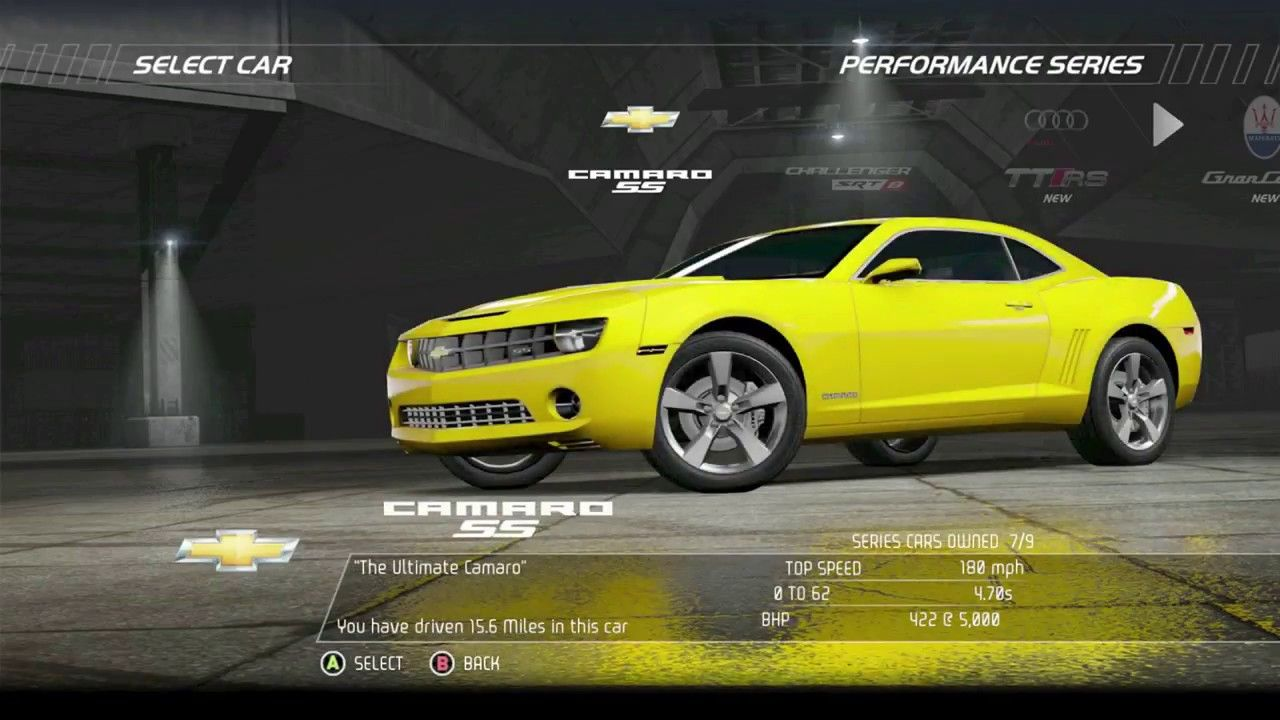 need for speed: hot pursuit - chevrolet camaro ss | videos | videos