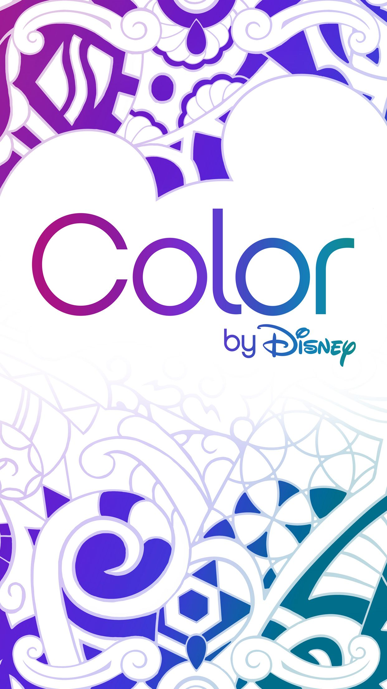 Love To Color The Color By Disney App For Mobile Devices Was Made For You Coloring Books Millie Marotta Coloring Book Vintage Coloring Books