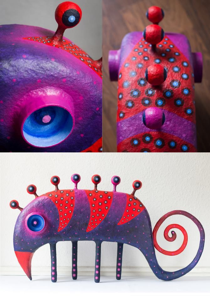 Pin by Linda Leach Designs on Polymer Arts   Paper mache