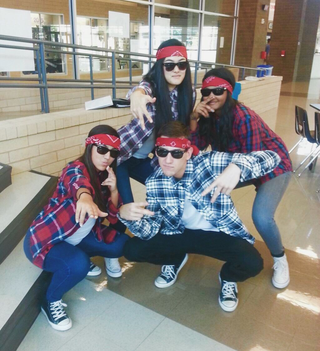 Flannel homecoming dress  Twin day homecoming dress up day  Spirit Week  Pinterest