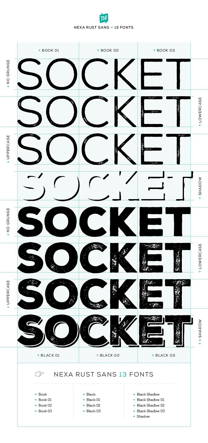 Download Nexa Rust Font Free   Font packs, Fonts, Typo logo