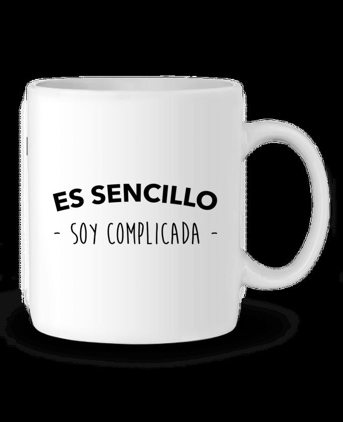 Taza Cerámica Es sencillo soy complicada por #tazasceramica Taza Cerámica Es sencillo soy complicada - tunetoo #tazas #tazaspersonalizadas #tazasoriginales #tazaspersonalizadasregalo #tazasceramica
