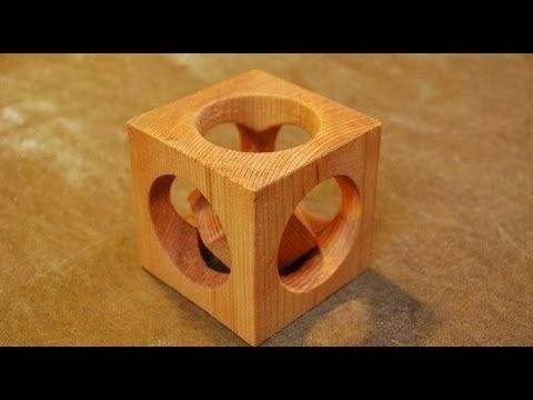 Impossible Ring Through Glass Bottle Youtube Woodworking Projects Wood Craft Projects Diy Wood Projects