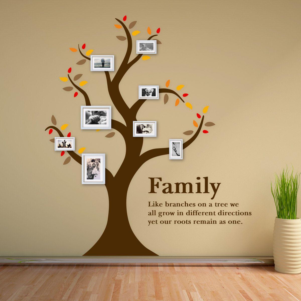 Family Tree Wall Sticker from The Binary Box by thebinarybox on Etsy ...