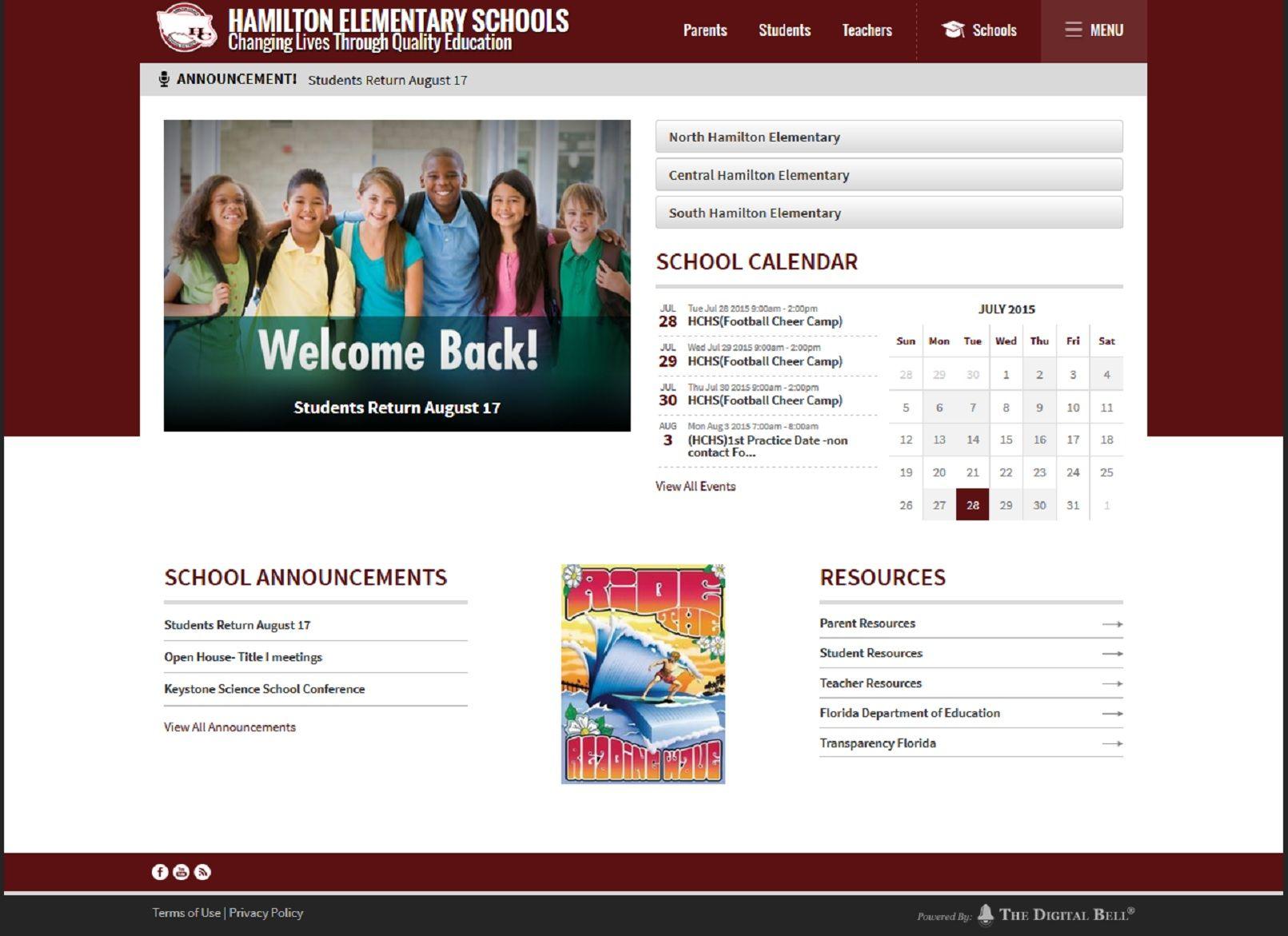 Hamilton Elementary Schools, Hamilton, FL Elementary