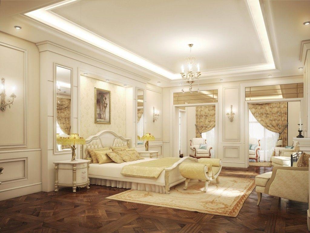 traditional-white-bedroom-furniture-luxury-classic-design-antique ...