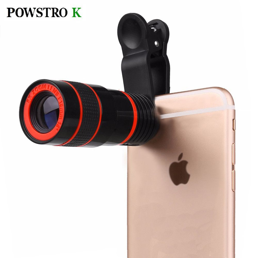 8x Zoom Optical Phone Telescope Portable Mobile Phone