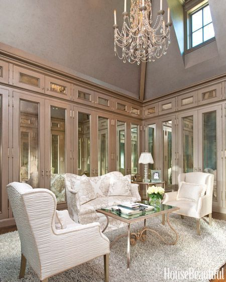 A Wonderful Sitting Area In A Closet Designedbetty Lou Unique Living Room Closet Design Inspiration Design
