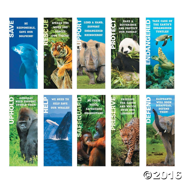 Endangered Animals Poster Set Endangered animals, Animal