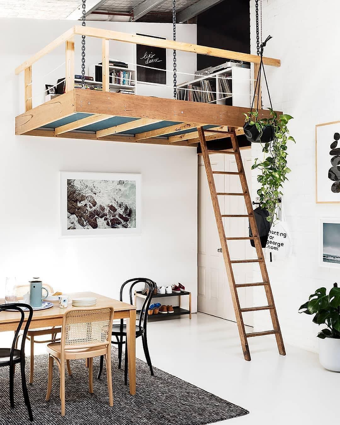 Malmö design supply on instagram mega loft goals 🙌🏻 who else is lusting over some double height ceilings just to build this beyond dreamy loft nook