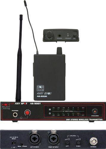 Galaxy AS-900 In Ear Monitor System  http://www.instrumentssale.com/galaxy-as-900-in-ear-monitor-system-2/