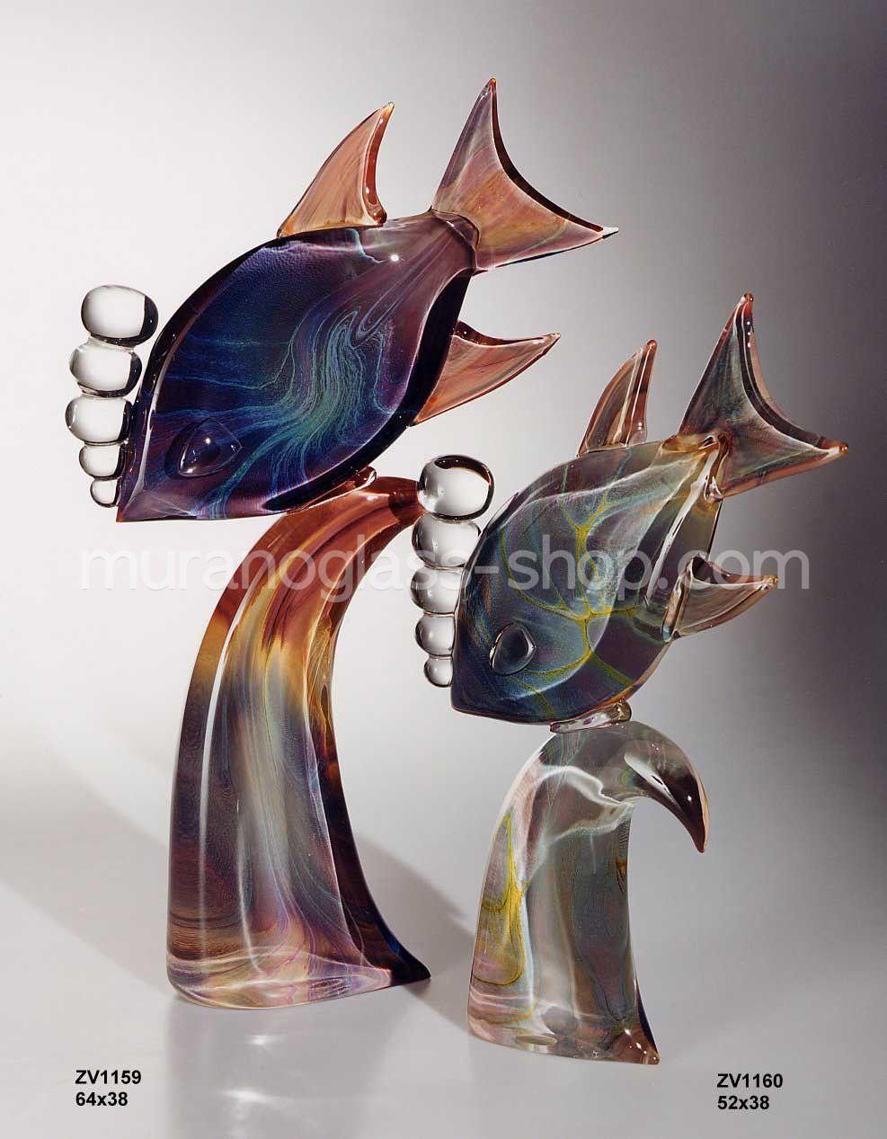 pez estilizado con las burbujas