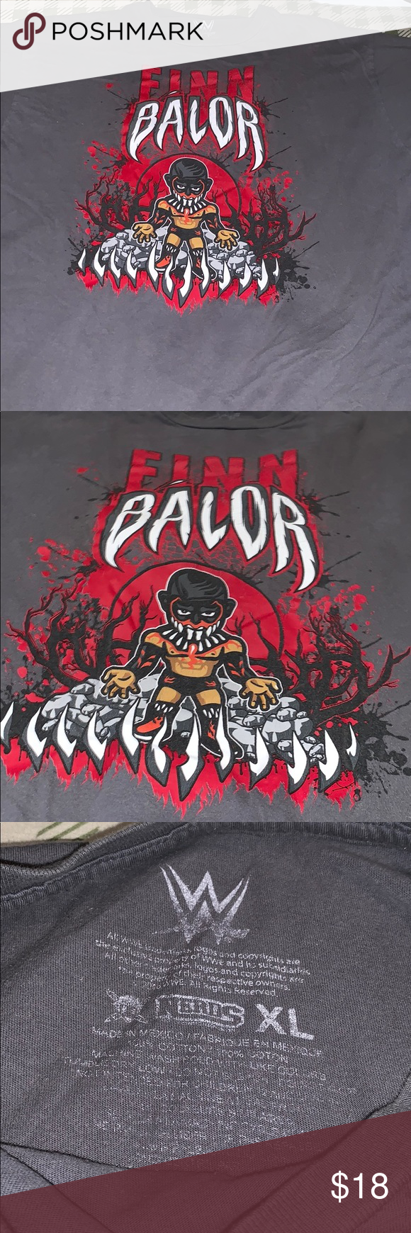 Men's XL WWE Finn Bálor Tee Men's XL WWE Finn Bálor Tee