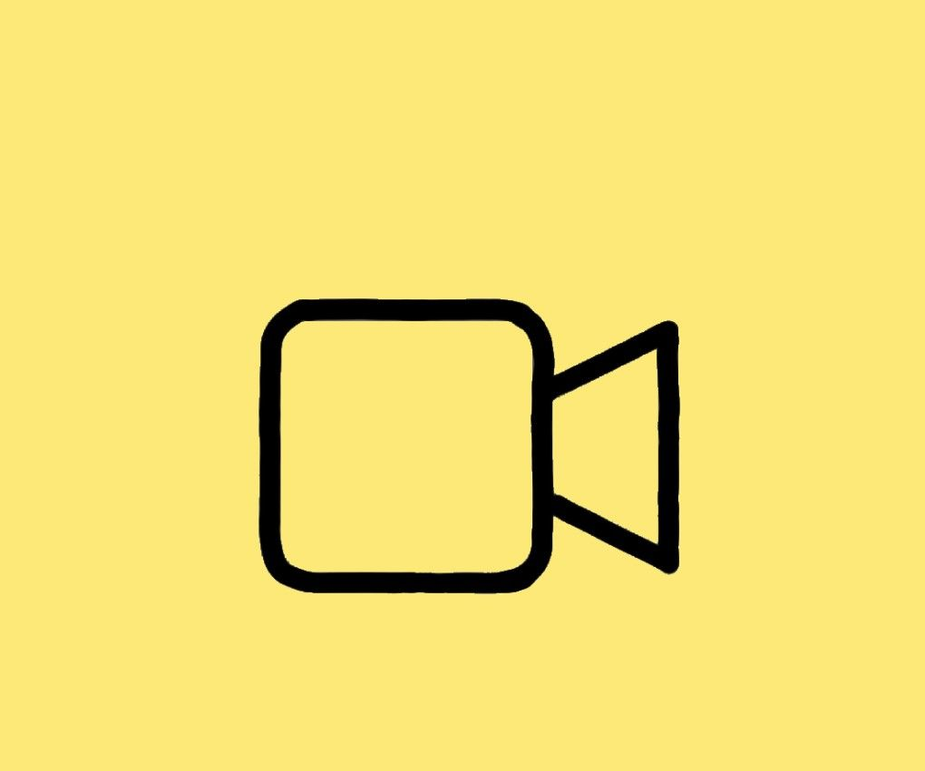 Facetime Aesthetic Icon