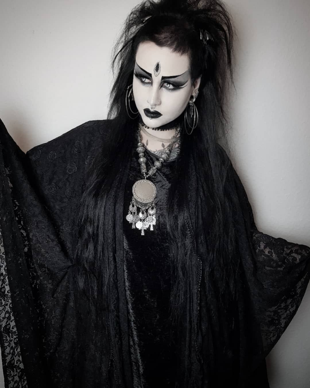 I Cant Wait To Shave My Sidecut Again Goth Gothic