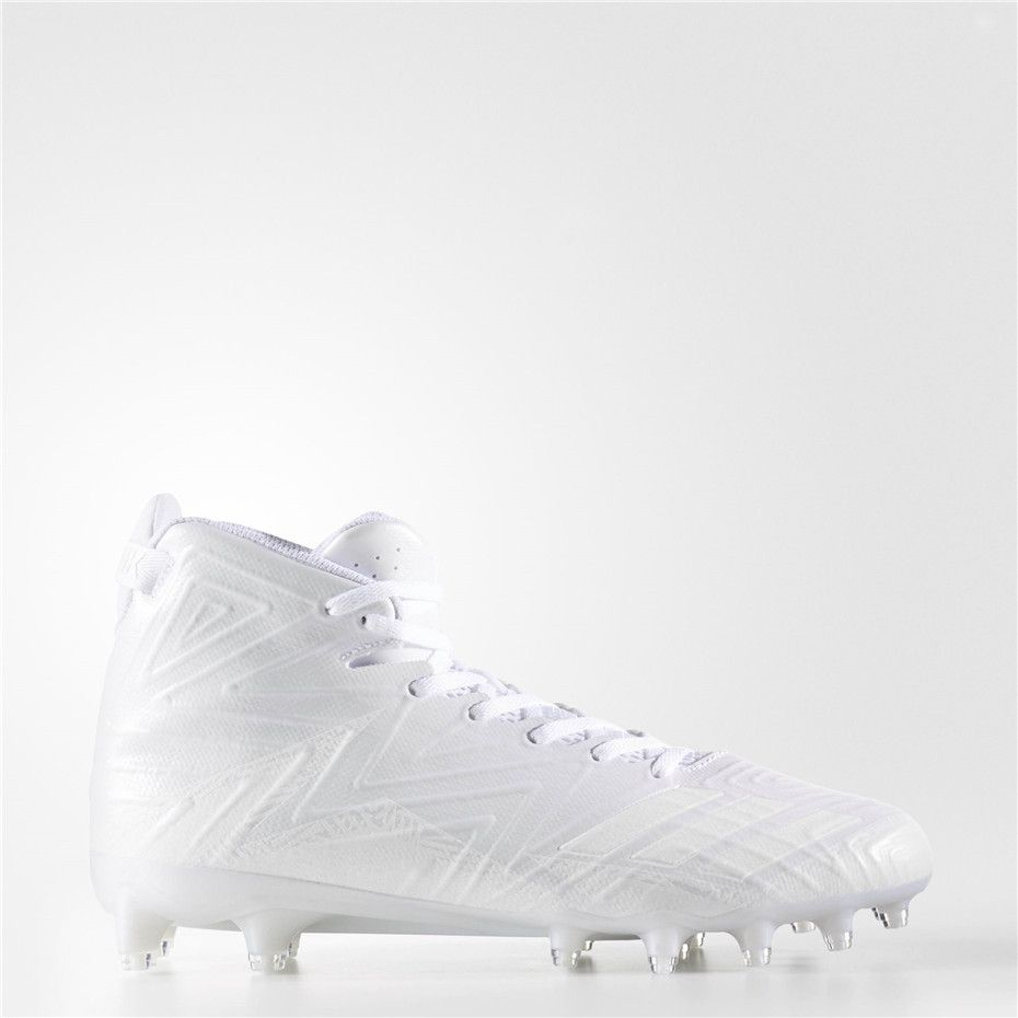 more photos 20edc 37932 Adidas Freak X Carbon Mid Cleats (Running White Ftw  Running White   Running White)