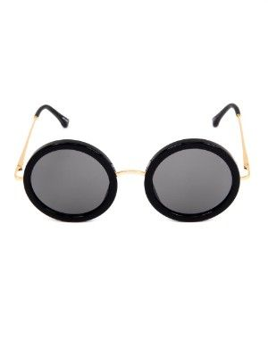 Oversized round-framed sunglasses | The Row | MATCHESFASHION.COM UK