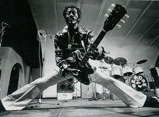 Image result for Chuck Berry dancing